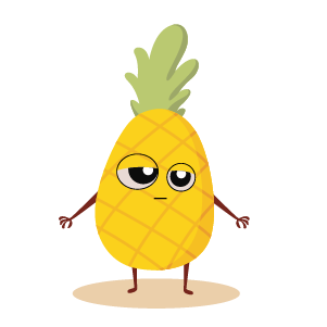 fruite face emoji lovely messages sticker-9