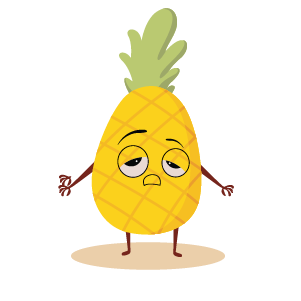 fruite face emoji lovely messages sticker-7