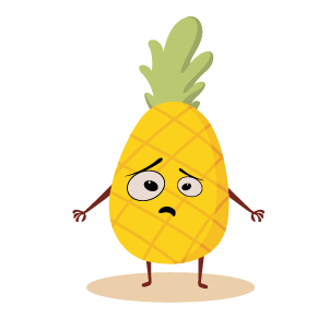 fruite face emoji lovely messages sticker-6