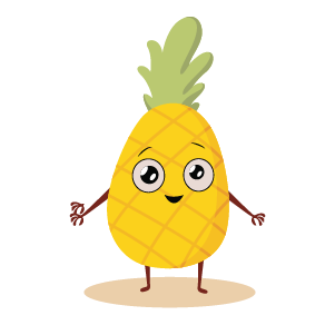fruite face emoji lovely messages sticker-8