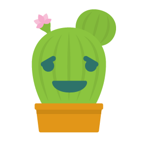 Cactus funny emoji stickers messages sticker-2
