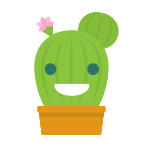 Cactus funny emoji stickers messages sticker-3