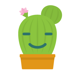 Cactus funny emoji stickers messages sticker-11