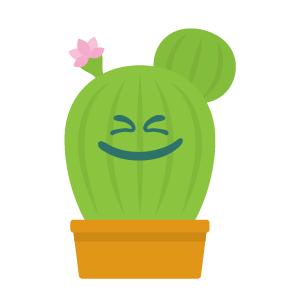 Cactus funny emoji stickers messages sticker-7