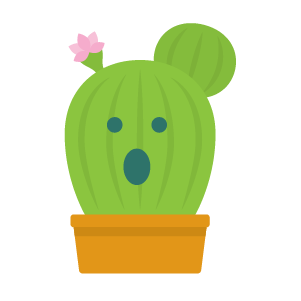 Cactus funny emoji stickers messages sticker-4