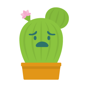 Cactus funny emoji stickers messages sticker-0