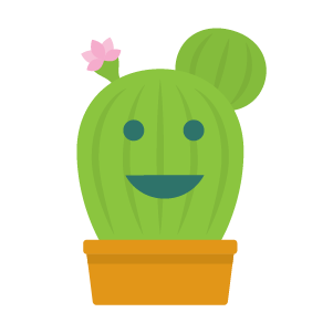 Cactus funny emoji stickers messages sticker-9