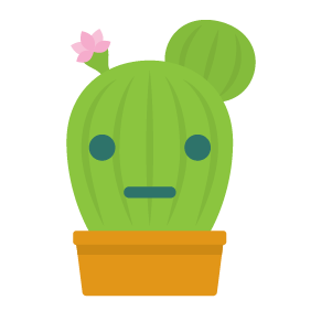 Cactus funny emoji stickers messages sticker-1