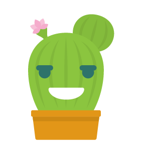 Cactus funny emoji stickers messages sticker-10