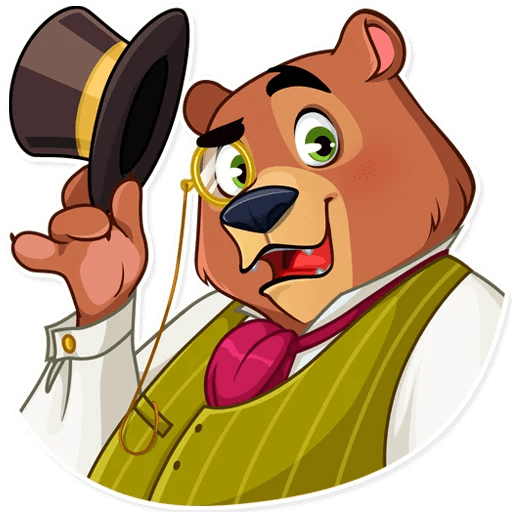 Todd Bear Moods For iMessages messages sticker-5