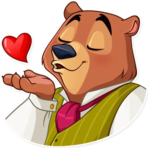Todd Bear Moods For iMessages messages sticker-1