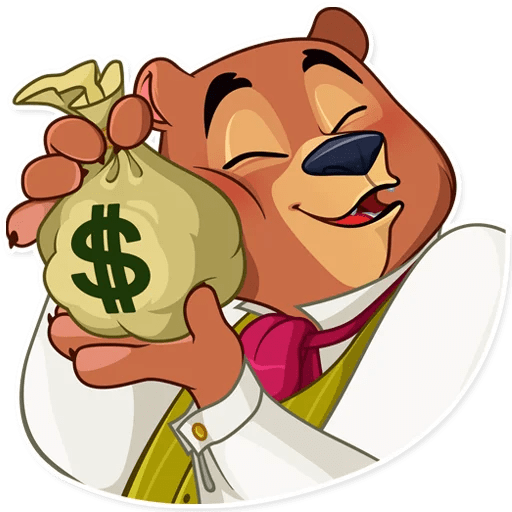 Todd Bear Moods For iMessages messages sticker-4