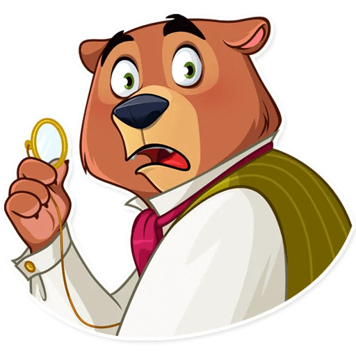 Todd Bear Moods For iMessages messages sticker-2
