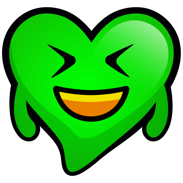 Green Hearts stickers messages sticker-4