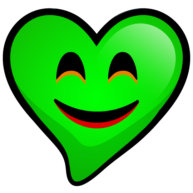 Green Hearts stickers messages sticker-9