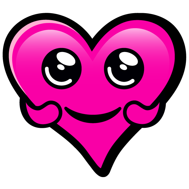 Pink Hearts stickers messages sticker-11