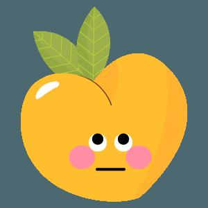 pear fruits emoji sticker messages sticker-3