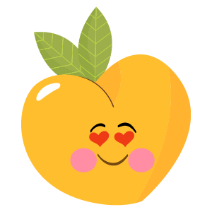 pear fruits emoji sticker messages sticker-9