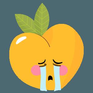 pear fruits emoji sticker messages sticker-0