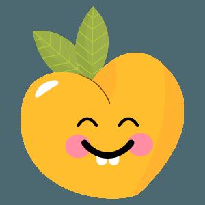 pear fruits emoji sticker messages sticker-5