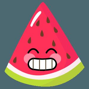 watermelon stickers app messages sticker-4