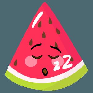 watermelon stickers app messages sticker-9