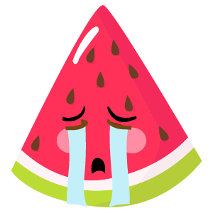 watermelon stickers app messages sticker-1