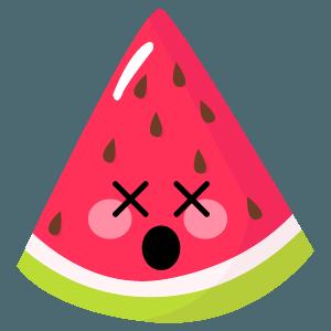 watermelon stickers app messages sticker-7