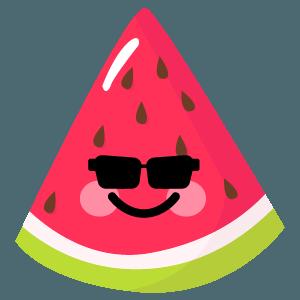 watermelon stickers app messages sticker-0