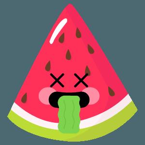 watermelon stickers app messages sticker-2