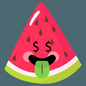 watermelon stickers app messages sticker-6
