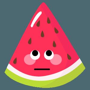 watermelon stickers app messages sticker-10