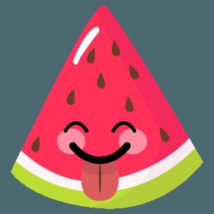 watermelon stickers app messages sticker-8