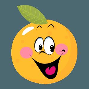 Orange stickers app 2020 messages sticker-11