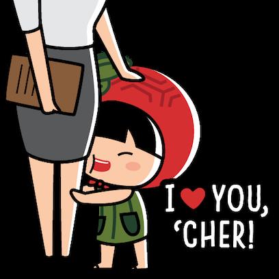 Ang Ku Kueh Girl - TeachersDay messages sticker-0