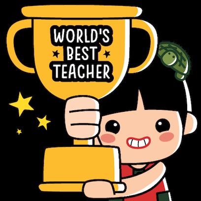Ang Ku Kueh Girl - TeachersDay messages sticker-3