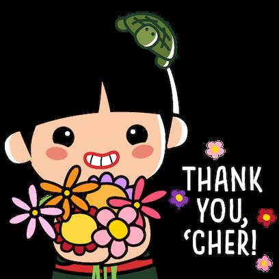 Ang Ku Kueh Girl - TeachersDay messages sticker-1
