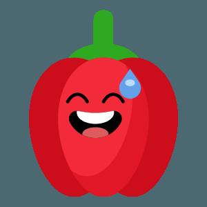 red fruits emoji sticker app messages sticker-0