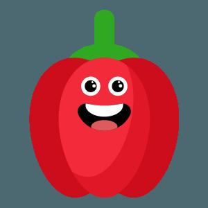 red fruits emoji sticker app messages sticker-4
