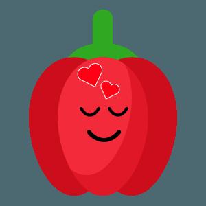 red fruits emoji sticker app messages sticker-11