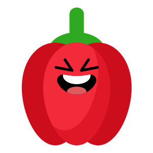 red fruits emoji sticker app messages sticker-6
