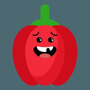 red fruits emoji sticker app messages sticker-10
