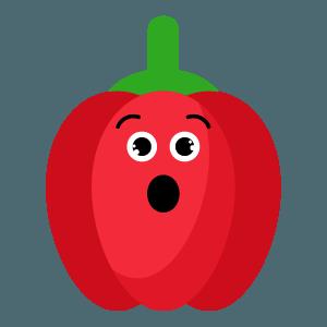 red fruits emoji sticker app messages sticker-9