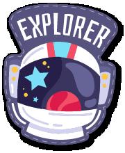 ExplorerSpaceAroundEarthStc messages sticker-9