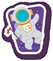 ExplorerSpaceAroundEarthStc messages sticker-2