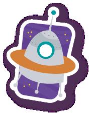 ExplorerSpaceAroundEarthStc messages sticker-1