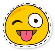 SunAndMoonFunnyFaceStc messages sticker-7