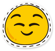 SunAndMoonFunnyFaceStc messages sticker-11