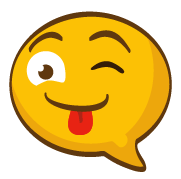 SunAndMoonFunnyFaceStc messages sticker-4