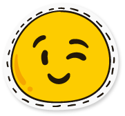 SunAndMoonFunnyFaceStc messages sticker-9